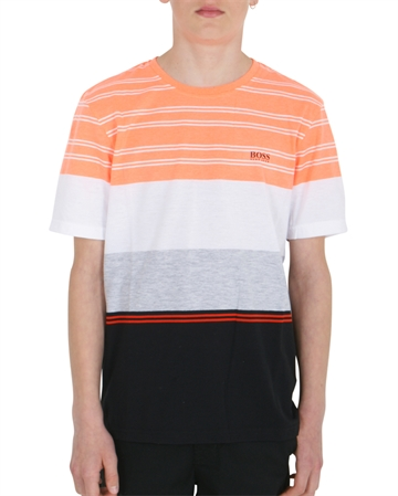 Hugo Boss T-shirt s/s Orange / Black J25E67