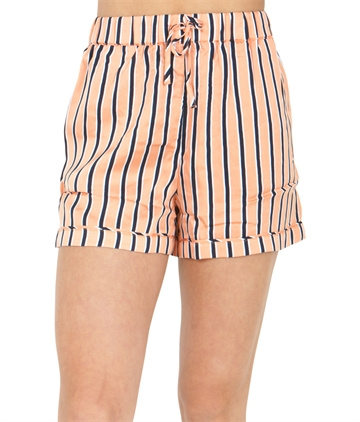 Tommy Hilfiger Shorts Girls Resort Stripe  Melon Orange/ Twilight Navy