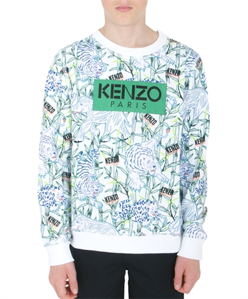 Kenzo Sweatshirt Jake Optical White KQ15598