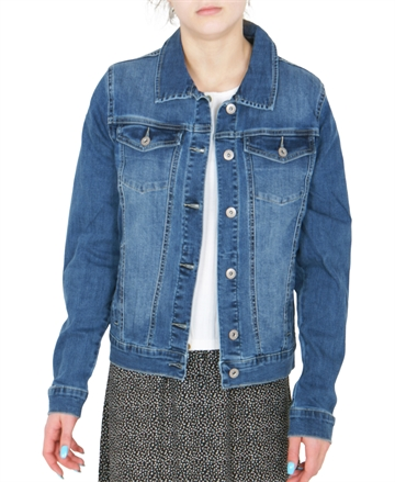 Grunt Denim Jacket Sanne Snug Blue