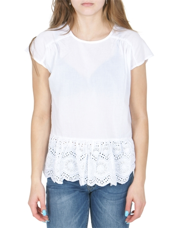 Grunt Girls bluse Annebeth White