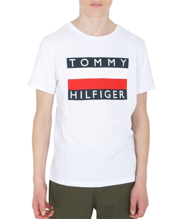 Tommy Hilfiger Boys Essential Tee Bright White