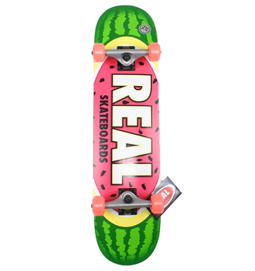 Real Complete Skateboard 7,75 Watermelon