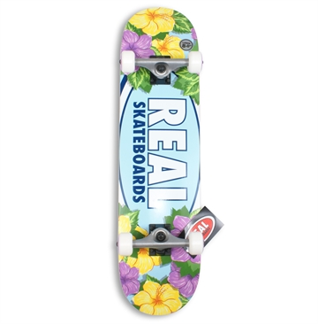 Real Complete Skateboard 8,0 Blossoms