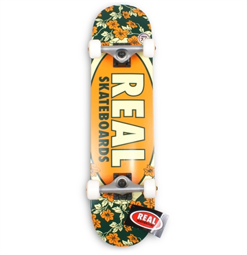 Real Complete Skateboard 7,3 Blossoms Mini