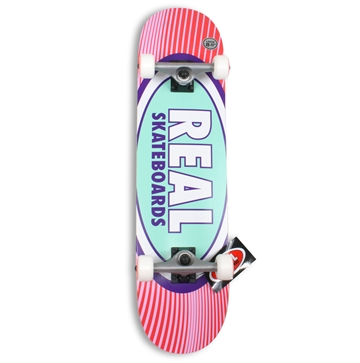 Real Complete Skateboard 8,0 Oval Rays