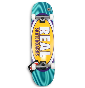 Real Complete Skateboard 8,25 Oval Rays