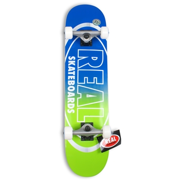 Real Complete Skateboard 7,5 Oval Outliners