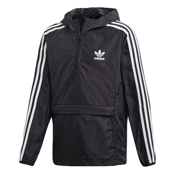 Adidas Anorak Packaway Windbreaker DV2889 Black