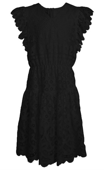 Little Remix Dress Audrey Ruffle Black