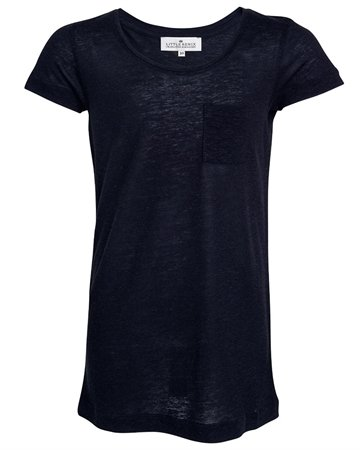 Little Remix Tee Blos Navy