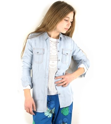 Little Remix Shirt Nova Light Blue