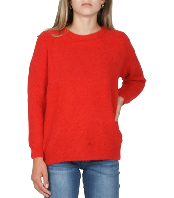 Little Remix Tyler sweater lipstick red