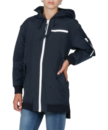 Little Remix Collin Long Hood Navy 14389