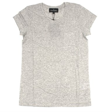 Little Remix Tee Blos Light Grey Melange