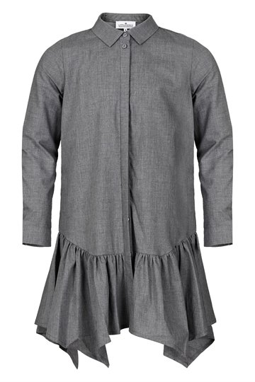 Little Remix Adalene Shirtdress Dark Grey Melange