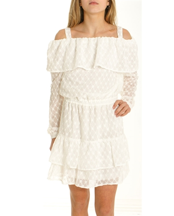 Little Remix Junior Kjole Strap Dress Allie Cream