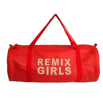 Little Remix Duffle Bag Red