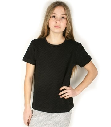 Little Remix sweat Tee Sigga Black