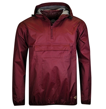 Dickies Anorak Centre Ridge Maroon