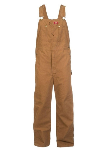 Dickies Duck Bib overall brown