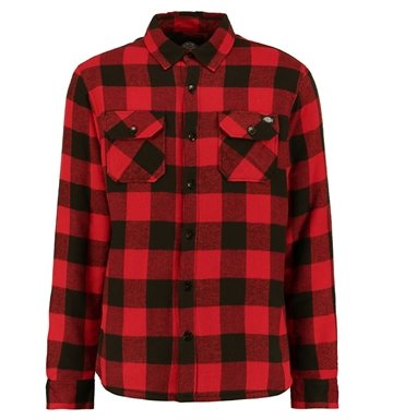 Dickies Insulated shirt Lansdale red
