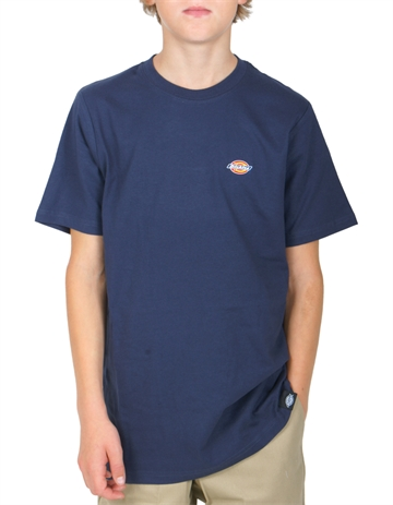 Dickies T-shirt Stockdale Navy Blue Mini Logo