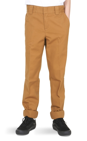 Dickies Original Slim Work Pant 872 Brown Duck