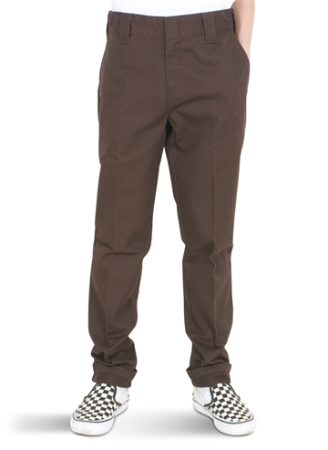 Dickies Original Slim Work Pant 872 Chocolate Brown