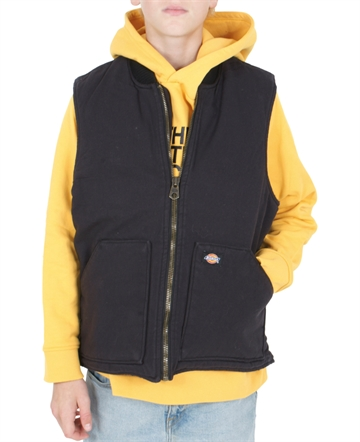 Dickies Vest Lawrenceburg Black