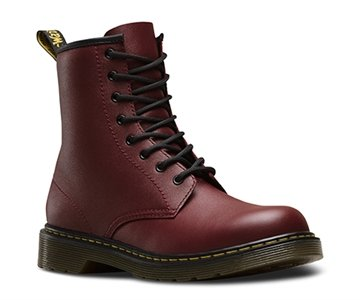 Dr. Martens Delaney Cherry Red