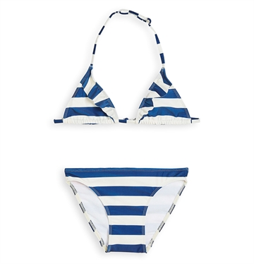 Finger In The Nose Noumea Triangle Bikini Navy Stripes