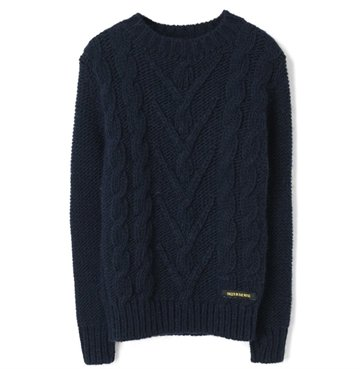 Finger in the Nose Sweater Avery Navy
