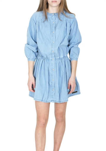 Finger In The Nose Roselake Dress Bleached Blue