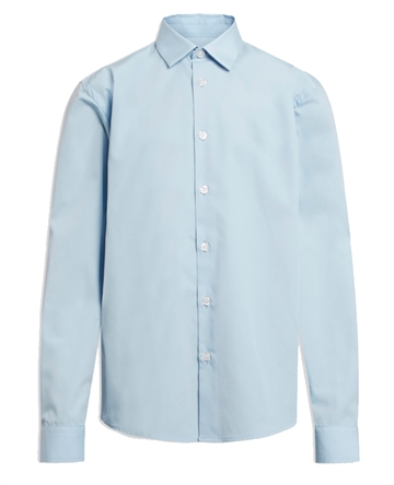Formél Skjorte Tex Light Blue