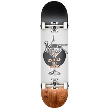 Globe Complete Skateboard G1 Excess White/Brown
