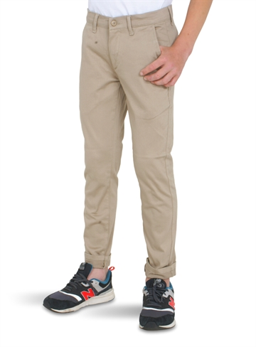Grunt Boys Dude Worker Pants Dk. Oatmeal