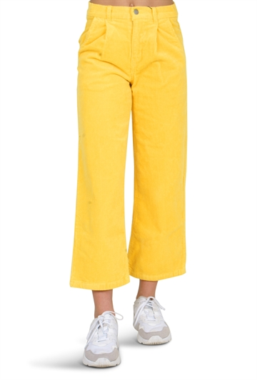 LMTD Girls banicka 7/8 wide pants primrose yellow