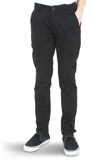 Grunt Boys Dude Worker Pants Black