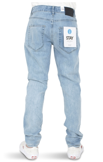 Grunt Boys Jeans STAY Washed Blue