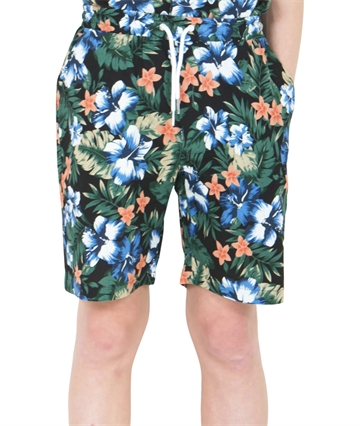 Grunt Boys Shorts Leaf Wave Blue
