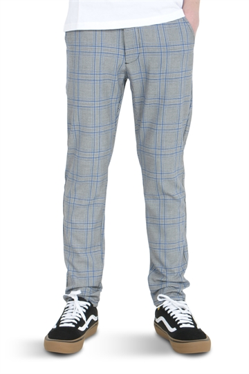 GRUNT Dude Pants Blue Check
