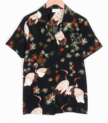 Grunt Boys Shirt Bird s/s