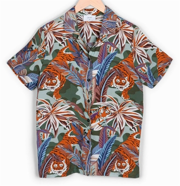 Grunt Boys Shirt Tiger s/s
