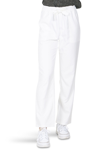 Grunt Bukser Ani Barrel Leg Pants White
