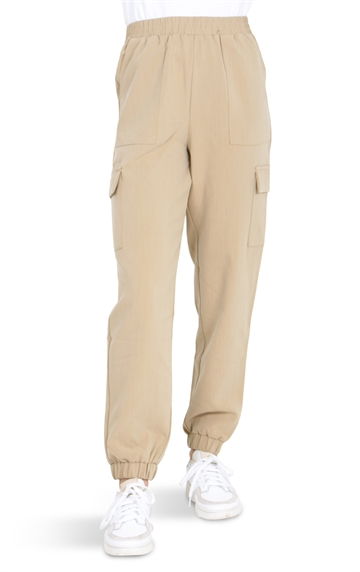 Grunt Astrid Pocket Pants Dark Fog