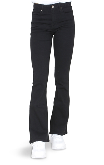 Grunt Girls Flare Pants Black