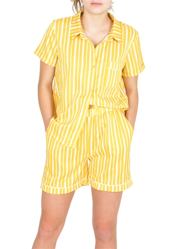 Grunt Shirt Sofia Yellow Pear