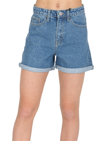 Grunt  Mom Shorts denim Ice Blue