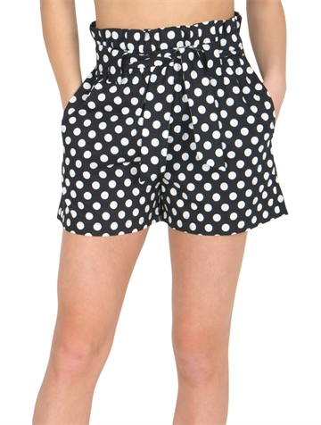 Grunt Shorts Sierra Black White dots